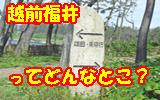 越前福井について
