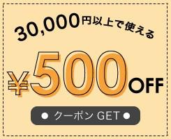 1/1~1/3まで期間限定500円OFFクーポン!