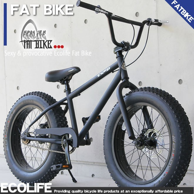 ファットバイク ビーチクルーザー 自転車 20インチ FATBIKE ファットバイク BMXスタイル 送料無料