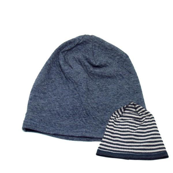 ニット帽 メンズ レディース 医療用帽子 抗がん剤 帽子 オーガニックコットン edgecity 06