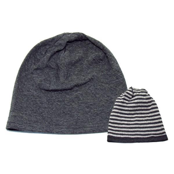 ニット帽 メンズ レディース 医療用帽子 抗がん剤 帽子 オーガニックコットン edgecity 18
