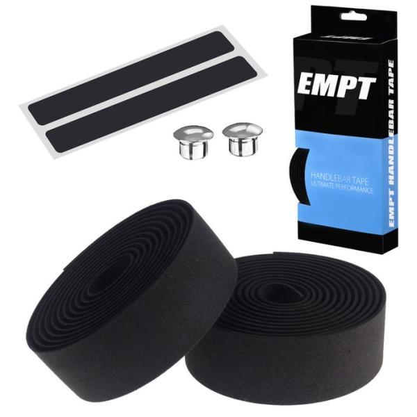 EMPT バーテープ EVA 単色 エンドキャップ エンドテープ セット   ブラック ブラウン レッド ブルー イエロー グリーン ホワイト ピンク 黒 茶 黄 青 緑 赤 白 edgesports 17