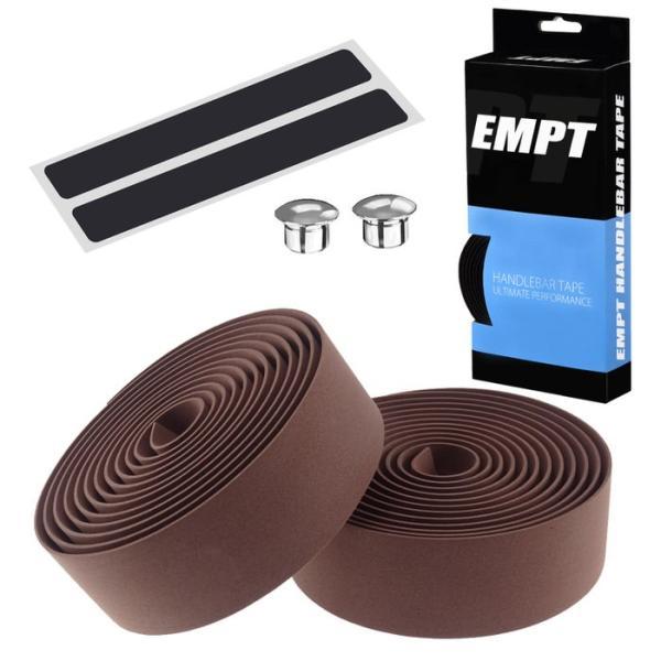 EMPT バーテープ EVA 単色 エンドキャップ エンドテープ セット   ブラック ブラウン レッド ブルー イエロー グリーン ホワイト ピンク 黒 茶 黄 青 緑 赤 白 edgesports 23