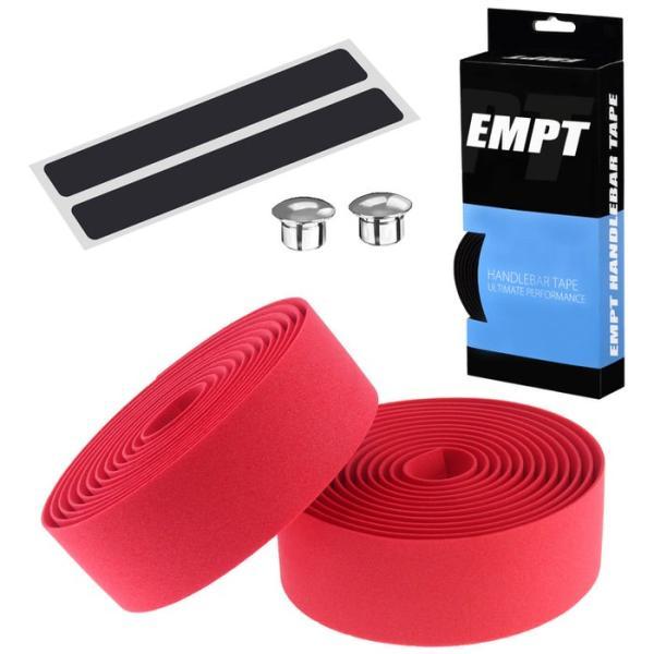 EMPT バーテープ EVA 単色 エンドキャップ エンドテープ セット   ブラック ブラウン レッド ブルー イエロー グリーン ホワイト ピンク 黒 茶 黄 青 緑 赤 白 edgesports 20