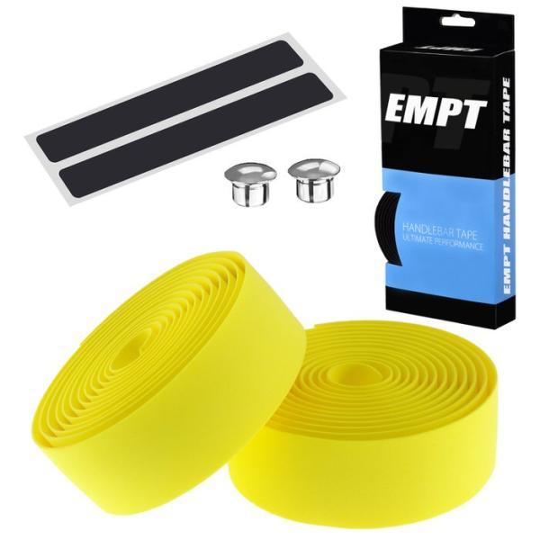 EMPT バーテープ EVA 単色 エンドキャップ エンドテープ セット   ブラック ブラウン レッド ブルー イエロー グリーン ホワイト ピンク 黒 茶 黄 青 緑 赤 白 edgesports 15