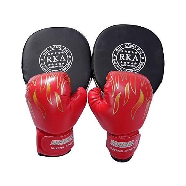 ボクシング セット ミット グローブ 親子 で 練習 トレーニング ストレス 解消|edunamay-shop2|08