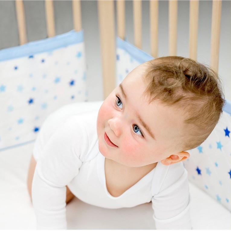 ベッドガード weegoamigo ウィーゴアミーゴ AIRWRAP エアーラップ 赤ちゃんにやさしいモスリンコットン