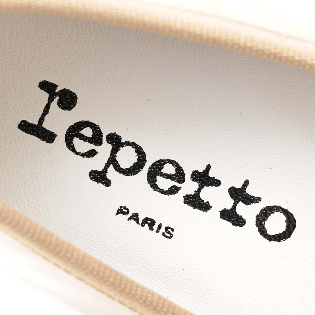 RepettoレペットバレエシューズBBベベV086Vエナメル24cm