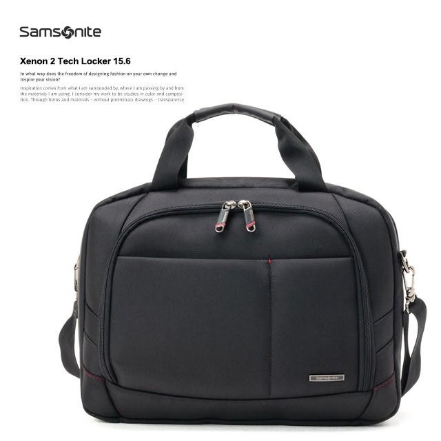 サムソナイトSamsoniteビジネスバッグブリーフケースXenon2TechLocker15.649208(49765)-1041BLACKブラック モデルイメージ