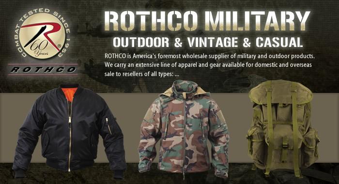ROTHCO(ロスコ)ミリタリー アウトドア&ヴィンテージ&カジュアル
