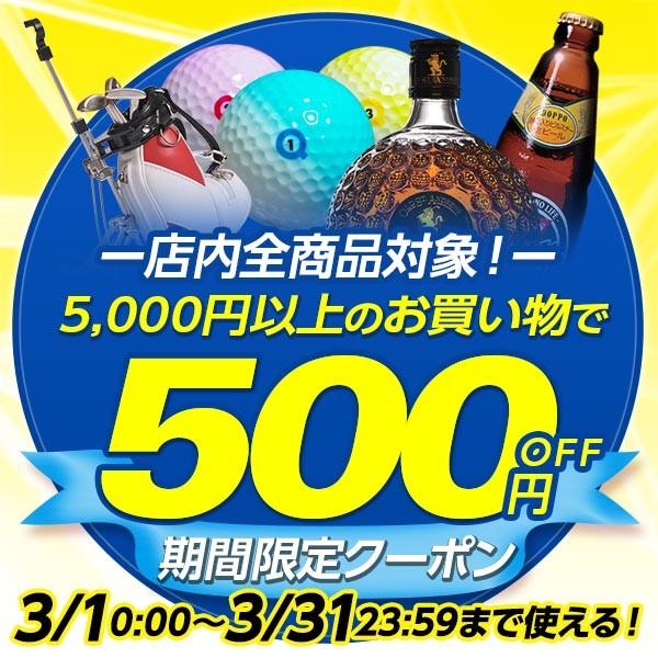 5,000円以上購入で使える500円OFFクーポン
