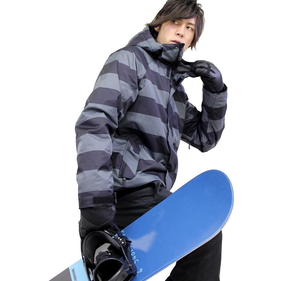 【おすすめコーディネート】スノーボードウェア ボーダー柄が主役 VAXPOT