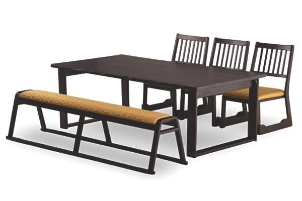 法事テーブル・チェア・ベンチ:セットでの利用イメージ