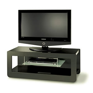 ワイドTVラック:イタリア製リビング家具(組立式)