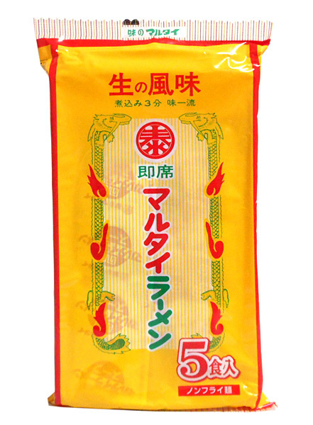 マルタイ マルタイラーメン 5食入り 410g(めん73g×5) ×12個【イージャパンモール】