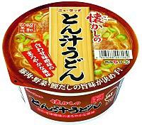 ヤマダイ株式会社 ニュータッチ なつかしのとん汁うどんカップ80g ×12個【イージャパンモール】
