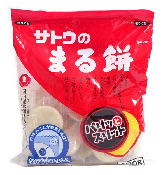 佐藤食品 パリッとスリット 丸もち 400g ×20個【イージャパンモール】