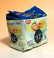 ★まとめ買い★ 日清食品(株) 日清ラ王 塩 96g×5食パック ×6個【イージャパンモール】