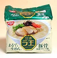 ★まとめ買い★ 日清 ラ王袋 豚骨味5食パック ×6個【イージャパンモール】