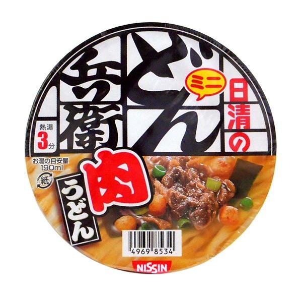 ★まとめ買い★ 日清食品(株) ミニどん兵衛 肉うどん 40g ×12個【イージャパンモール】