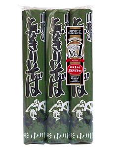 ★まとめ買い★ 小川製麺所 山形のとびきりそば 450g  ×15個【イージャパンモール】