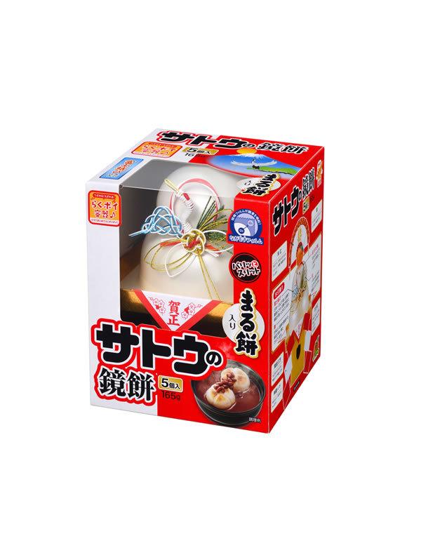 ★まとめ買い★ サトウ サッと鏡餅丸餅入り165g ×16個【イージャパンモール】