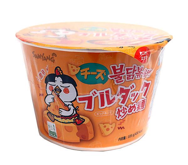 ★まとめ買い★ 三養 チーズブルダック炒め麺 BIG 105g ×16個【イージャパンモール】