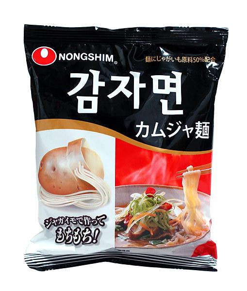 ★まとめ買い★ 農心ジャパン カムジャ麺 袋 100G ×20個【イージャパンモール】