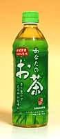 ★まとめ買い★ サンガリア あなたのお茶 500mlPET ×24個【イージャパンモール】