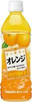 ★まとめ買い★ サンガリア すっきりとオレンジ 500ml PET ×24個【イージャパンモール】