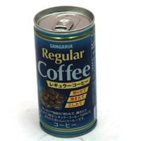 ★まとめ買い★ サンガリア レギュラーコーヒー 190g缶 ×30個【イージャパンモール】