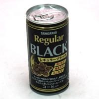 ★まとめ買い★ サンガリア レギュラーブラック 190g缶 ×30個【イージャパンモール】