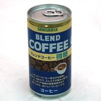 ★まとめ買い★ サンガリア ブレンドコーヒー微糖 185g缶 ×30個【イージャパンモール】