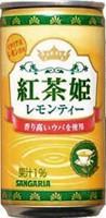 ★まとめ買い★ サンガリア 紅茶姫レモンティー 190g ×30個【イージャパンモール】
