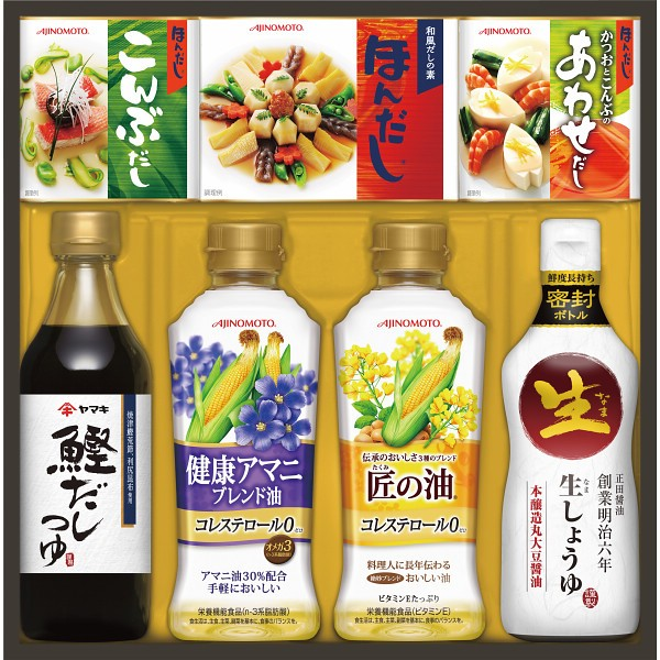 【送料無料】味の素 和食を楽しむ調味料ギフト TA−30F 【代引不可】【ギフト館】