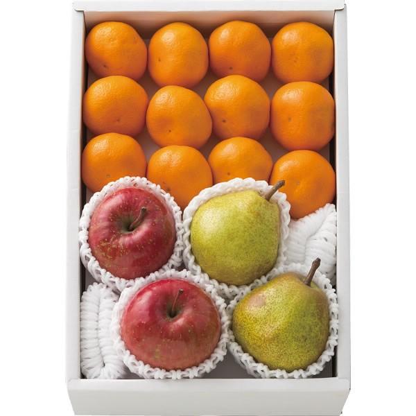 【送料無料】りんご&みかん&ラ・フランス詰合せ【代引不可】【ギフト館】