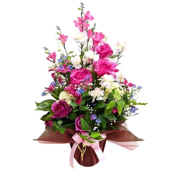 【送料無料】【母の日】母の日アレンジフラワー モン・クール ピンク 20−md−03p【代引不可】【ギフト館】