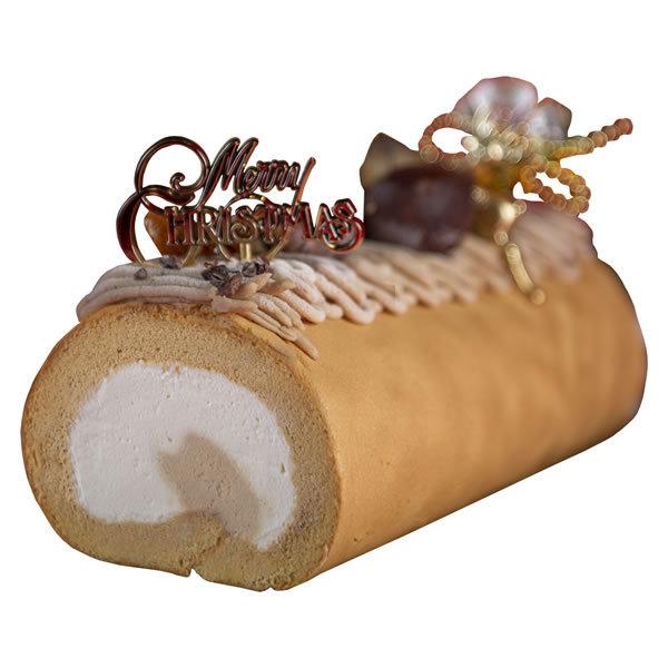 【送料無料】【クリスマス】【冷凍】パティスリー モンシェール クリスマスの堂島モンブランロール DMRX【ギフト館】