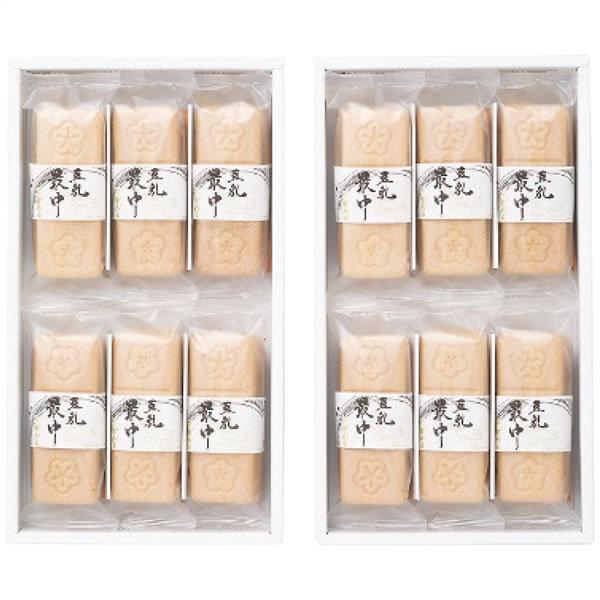 【送料無料】ガンコ 豆乳最中2箱セット AM62【ギフト館】