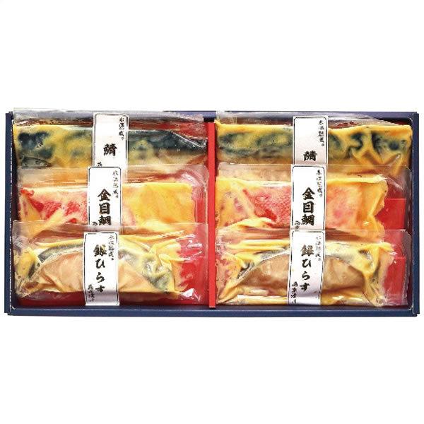 【送料無料】ダイマツ 氷温熟成西京漬けギフトセット6切 SKD−30【ギフト館】