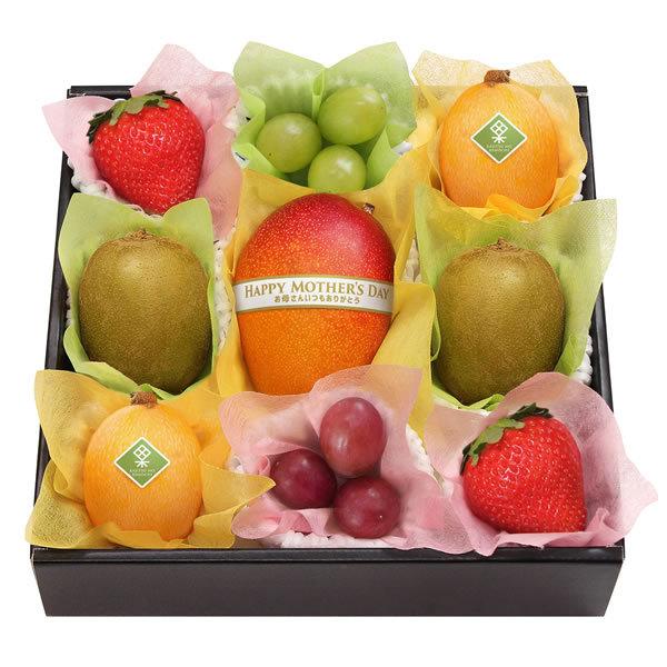 【送料無料】【母の日】母の日 果実のキモチ フルーツ宝石箱 M−H−FHR【ギフト館】