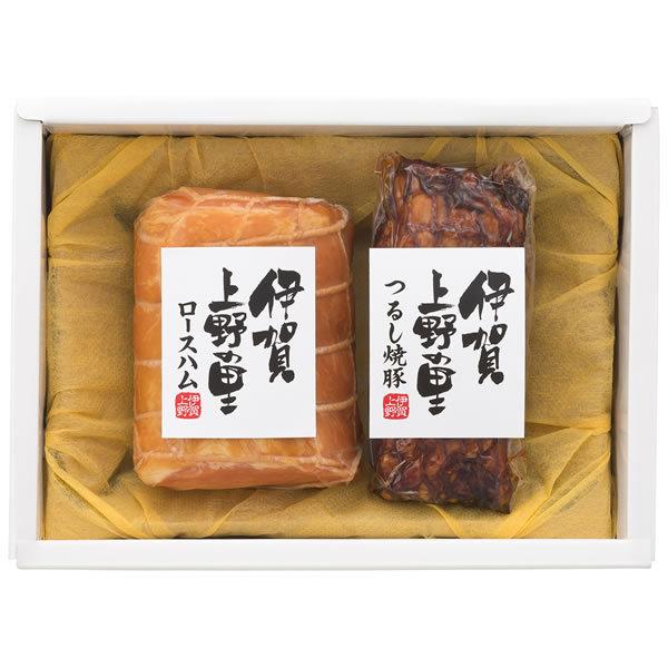 【送料無料】【母の日】伊賀上野の里 母の日 伊賀上野の里ロースハム&つるし焼豚詰合せ SAG−30【ギフト館】