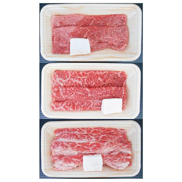 【送料無料】【母の日】松阪牛 母の日 松阪牛すき焼き食べ比べセット MBUS40−100MA【ギフト館】