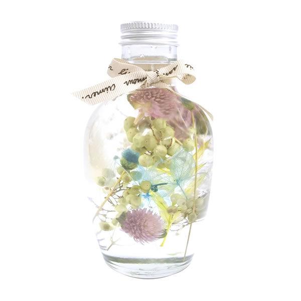【送料無料】【母の日】母の日 ハーバリウムフルーツボトル(ブルー) SC−80669【ギフト館】