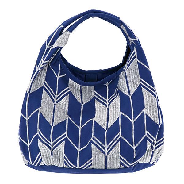 【送料無料】【母の日】母の日 ミニラウンドバッグ やがすり紺 21809421【ギフト館】