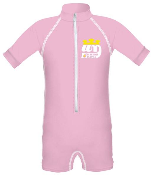 watermove BABYスイムスーツ PINK M/70−80【スポーツ館】