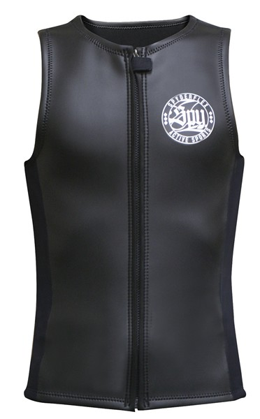 SPYDERFLEX 17 S/F CLASSIC スキンベスト BLACK XL【スポーツ館】