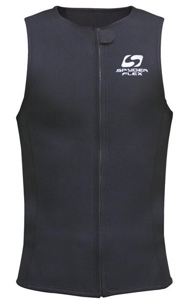 SPYDERFLEX 17 S/F T−1ジャージベスト BLACK XL【スポーツ館】