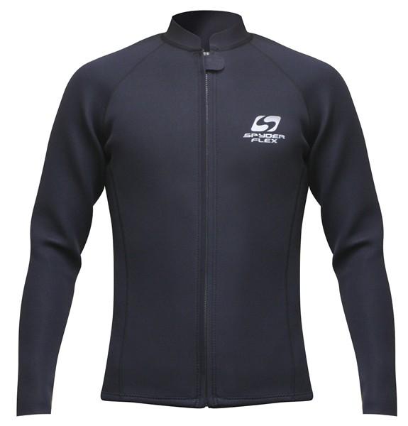 SPYDERFLEX 17 S/F T−1ジャージタッパー LONG 黒 XL【スポーツ館】