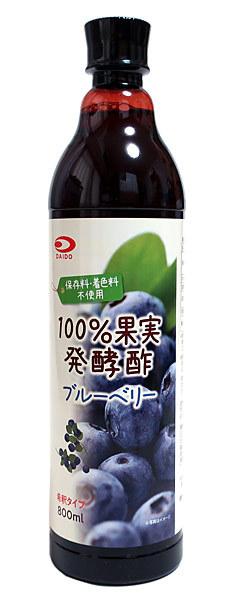 大同 ブルーベリー酢800ml【イージャパンモール】